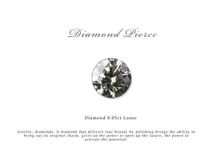 ダイヤモンド ルース 裸石 ダイヤモンド 0.05ct