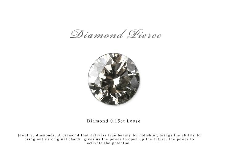 ダイヤモンド ルース 裸石 ダイヤモンド 0.15ct